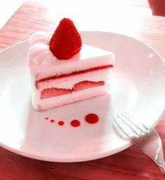 Cute Desserts, Dessert Recipes, Dessert Kawaii, Pink Foods, Cafe Food, Cute Cakes, Aesthetic Food, Food Cravings, Sweet Treats