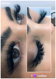 11a7e75a331 #i💜Lashes Volume Eyelash Extensions, Russian Eyelash Extensions, Eye  Makeup, Hair