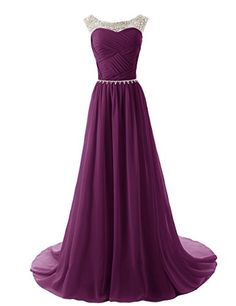 online shopping for Dydsz Women's Beaded Prom Dress Chiffon A Line Evening Party Dresses Formal Gown from top store. See new offer for Dydsz Women's Beaded Prom Dress Chiffon A Line Evening Party Dresses Formal Gown Sparkly Bridesmaid Dress, Sparkly Prom Dresses, Beaded Prom Dress, Prom Party Dresses, Pretty Dresses, Dress Prom, Party Gowns, Beaded Gown, Bridesmaid Gowns