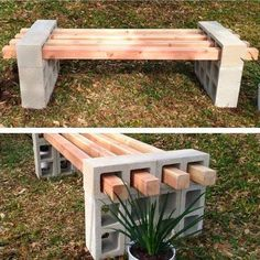 diy outdoor projects Make these awesome outdoor bench projects for your backyard, porch or deck! Celebrate your garden in style with a DIY bench!