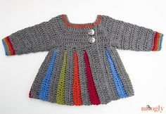 Eloise Pinafore by Tamara Kelly | Moogly via Ravelry.com - Crochet (Free Pattern)