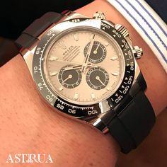 Nuovo Rolex Cosmograph Daytona 116519LN Quadrante in acciaio e nero, oro bianco e bracciale oysterflex astrua#rolex#daytona#116519LN#baselworld#rolexholics#oysterflex#luxury#luxurywatch
