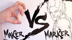 Maker vs Marker is a stop motion fight between animator and animation taking place on a whiteboard. Based from the Street Fighter Series with elements of DBZ, Transformers, The Matrix and the unintentional SSBB.  Download at iTunes - M vs M Official Soundtrack by Brian Sadler: https://itunes.apple.com/us/album/mak...  Animation by Jonny Lawrence Music by Brian Sadler  http://jonny-lawrence.co.uk/ http://briansadler.org/  Follow me on Facebook: https://www.facebook.com/jonnylawrenc...
