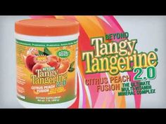 NEW Youngevity® Beyond Tangy Tangerine 2.0 - This stuff is so Yummy... my favorite drink! www.healyoursel.my90forlife.com