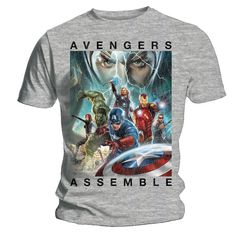 Daily Desire    If you're an Avengers fan you're bound to love this 'Avengers Assemble' t-shirt available now in stores £19.99 and due to hit our online store very shortly!    www.thisispulp.co.uk