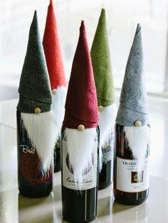 Wine in disguise.   Cute!