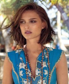 Image result for messy jaw-length bob