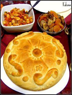 Eastern European Recipes, European Cuisine, Bulgarian Recipes, Bulgarian Food, Kiflice Recipe, Good Food, Yummy Food, Delicious Meals, Bread Recipes