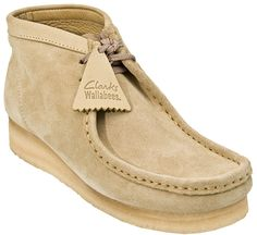 these were insanely popular in the early 70's.  I never had a pair.  Clarks Originals Wallabee Womens Shoes - Sand Suede - Women
