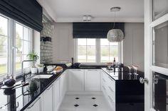 Kuchnia - zdjęcie od GSG STUDIO | interiors & design - Kuchnia - Styl Glamour - GSG STUDIO | interiors & design glamour kitchen | black | white | luxury | white | modern