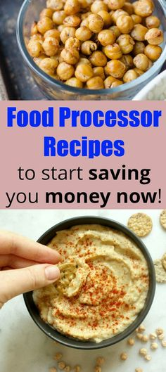 Start saving money now easy food processor recipes food processor food processor recipes to start saving you money vegan recipes budget meals cheap forumfinder Choice Image