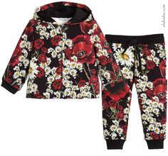 ALALOSHA: VOGUE ENFANTS: Must Have of the Day: Poppy and daisy print crêpe dress by Dolce & Gabbana for little girls