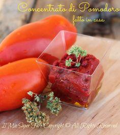 Concentrato di pomodoro fatto in casa blog il mio saper fare