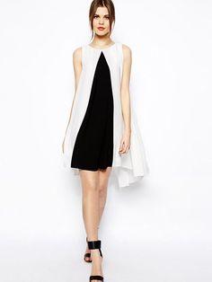A-line Round Neck Knee Length Chiffon Summer Dresses : KissChic ...