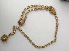 Chanel Jewelry, Vintage Chanel, Gold Necklace, Belt, Accessories, Beautiful, Belts, Gold Pendant Necklace, Jewelry Accessories
