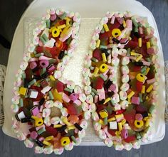 A yummy no 60 Sweetie Cake made by Candy Forrest..