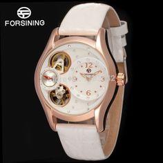 41.88$  Watch now - http://alic9q.worldwells.pw/go.php?t=1907044579 - Famous Brand Forsining Quartz Lady wristwatch Hotsale Casual Watches Women Shipping Free FSL8014Q3R4 41.88$