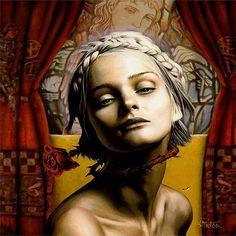 Saint Cecilia by Vic Lee