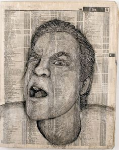 Amazing Celebrity Phonebook Carvings | WHATTHECOOL