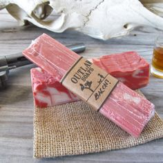 Bacon Soap- a new way to start your day with the smell of freshly cooked bacon?