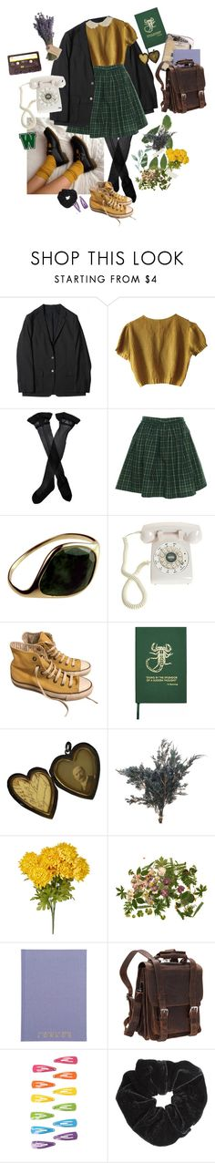 """""""rudie can't fail"""" by detachedanddiscontent ❤ liked on Polyvore featuring CASSETTE, Schumacher, Trasparenze, Tommy Hilfiger, Crosley, Olive, Converse, Sloane Stationery, Vagabond Traveler and Miss Selfridge"""