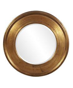J  J Modern Kids - Kendyl's Gold Round Mirror #summerinthecity #modernnursery