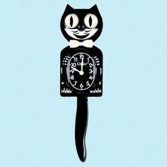 Kit-Cat Clock Classic Sort fra Ruth66. Om denne nettbutikken: http://nettbutikknytt.no/ruth66-no/