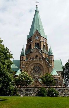 Church of St. Sofia at Sodermalm - Stockholm, Sweden