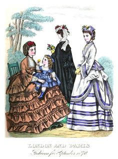 The London and Paris ladies' magazine of fashion 1870