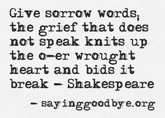 Hamlet and grief