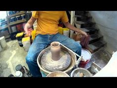 ▶ Pottery Throwing a Growler 2x speed - YouTube