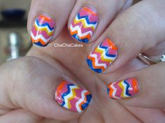 Cha Cha Cakes Nails: Day 16 in the 31 Day Nail Art Challenge