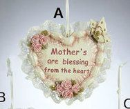 Country Marketplace - Mother Heart Ornament, $8.99 (http://www.countrymarketplaces.com/mother-heart-ornament/)