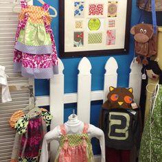 Amy Butler / Jennifer Paganelli Knot Apron Dress   Anna Marie Horner  Peasant Harper Style Dress  @Knitting Mill