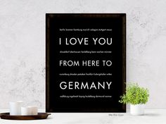 Celebrate a country filled with history, culture, and adventure with this travel poster. Germany might be your favorite travel destination, the roots of your family tree, or someplace you have always