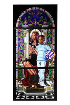 515fc543723 Award winning painter Kehinde Wiley to debut new stained glass exhibition  at Le Petit Palais in