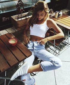 5cf58fccd38 Timeout. Crop Top And High Waisted ShortsCrop ...