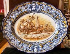 Spanish Ceramic - Toledo - Robles - MIJASCERAMIC.COM