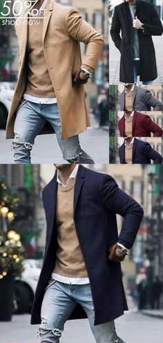 50 Simple and Comfortable Outfit to be Worn for Men - men's fashion. - Moda World Blazer Outfits Casual, Business Casual Outfits, Mens Fashion Wear, Men's Fashion, Fashion Basics, Fashion Shirts, Mode Mantel, Herren Outfit, Mens Fall