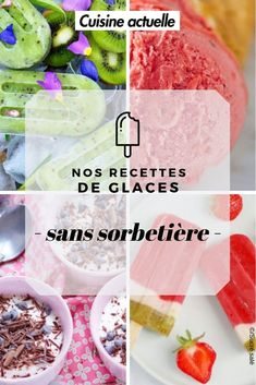 Granitas, Parfait, Mousse, Frozen, Ice Cream, Favorite Recipes, Sweets, Baking, Breakfast