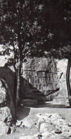 Hittite, Open air Temple,Sacred rock, Yazılıkaya ( Kurt Bittel) (Erdinç Bakla archive)