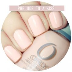 ORLY Prelude to a Kiss , a beautiful orange-pink powder