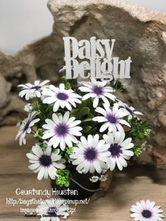 Bags That One!: Daisy Delight - a Bundle that is just Delightful! Instructions for Flowers included in the Post.