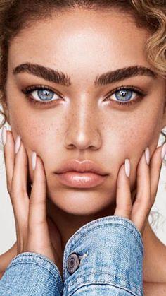Alternative bridal beauty inspiration for your not so average bride ⚡ Beauty Make-up, Beauty Shoot, Bridal Beauty, Fashion Beauty, Gorgeous Eyes, Pretty Eyes, Gorgeous Makeup, Gorgeous Women, Natural Makeup Looks