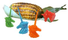 This is hilarious. Unicorn Corn Holders
