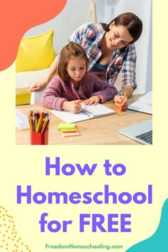 Yes, you can homeschool your children for free! At FreedomHomeschooling.com we list free curriculum for all grades and every subject. And we are constantly adding new free resources to the website. Subscribe to our free newsletter to make sure you never miss anything. Free Homeschool Curriculum, Preschool Education, How To Start Homeschooling, Learning Techniques, Learning Resources, Education Quotes, Lesson Plans, Frugal, The Help