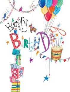 Birthday Quotes : happy birthday,joyeux anniversaire - The Love Quotes Happy Birthday For Her, Happy Birthday Celebration, Birthday Wishes Cards, Bday Cards, Happy Birthday Messages, Happy Birthday Images, Happy Birthday Greetings, Birthday Greeting Cards, Birthday Fun