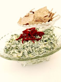 #SuperBowl #Snack Idea: I Can't Believe This is #Vegan and #Glutenfree! Classic Spinach Dip recipe cc: @Whole Foods Market