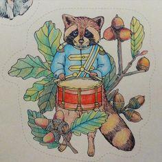 From: Rhapsody In The Forest / #森が奏でるラプソディー / (Amazon Japan) / Used: Colouring Pencils #colouringforadults #colouringforgrownups #colouringbooks #colouringpencils #ColouringforMindfulness #塗り絵 #おとなの塗り絵 #コロリアージュ #著色 #填色 #塗鴉 #RhapsodyInTheForest