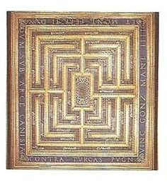 Ceiling maze, Ducal Palace at Mantua